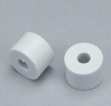 distanční podložka k šatním košům - průměr 15x10 mm - bílý plast(2002001601)