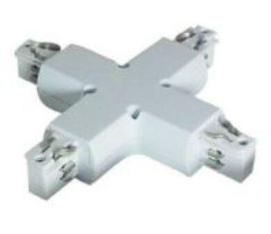 Spojka křížová pro 4-polovou lištu bílá(3201712608)