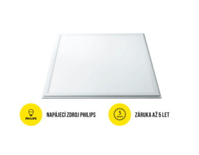 LED panel 600x600 mm 40W bílá studená 4000 lm IP40(3201792607)