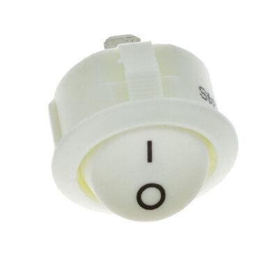 Vypínač do desky R13 kolébkový, bílý(3204001601)