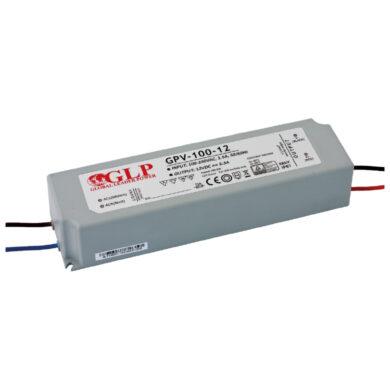 Zdroj napětí 12V 100W 8,3A IP67 GLP typ GPV-100-12(3205057120)
