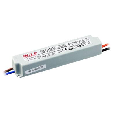 Zdroj napětí 12V 18W 1,5A IP67 GLP typ GPV-18-12(3205114120)