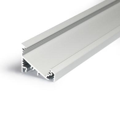 Profil WIRELI CORNER27 G/UX 30/60° hliník anoda 2m (metráž)                     (3209122120)