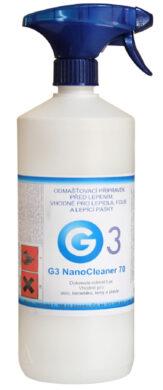 Čistič podkladů před lepením 1000 ml G3 Nano cleaner (sklo, keramika, kovy, plas(3211002320)