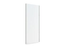 Plnovýsuvné zrcadlo, 350x40x1000 mm, rám hliník eloxovaný