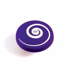 Knopka dětská GD09 - Vír fialový, plast