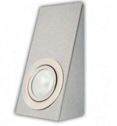 LHP2-1K obdel.roh nerez brus-Klasické nábytkářské svítidlo. Svítidlo je dodáváno bez žárovky. Použijte žárovky LED 1,8-2W nebo halogen G4 20W