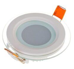 LED svítidlo vestavné Glass prům.160 mm 12W neutrální bílá 840 lm
