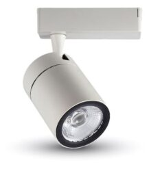 LED projektor 4-fázový pro lištový systém bílý 35W stud. bílá 2500 lm (gar. 5r)