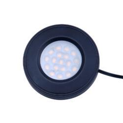 LED svítidlo LADA černé 1,5W 100lm 76x13mm bílá teplé