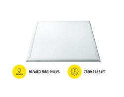 LED panel 600x600 mm 40W bílá neutrální 4000 lm IP40