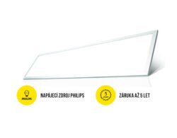 LED panel 1200x300 mm 40W bílá neutrální 4000 lm