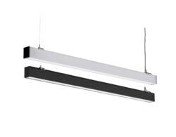 LED svítidlo lineární 1500x52x70 mm 40W bílá neutrální 4000 lm (černé)