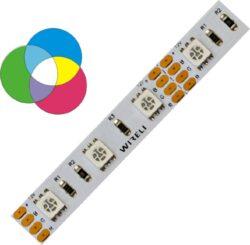 RGB LED pásek 5050  60 WIRELI 14,4W 0,6A 24V-RGB LED pásek  standardní na 24V Napájení 24V umožňuje vytvářet dlouhé světelné linie.