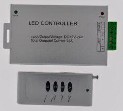 RGB řadič s dálk.ovládáním RADIO RF1 3x4 A
