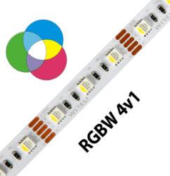 RGBW LED pásek 5050  60 WIRELI 19,2W 1,6A 12V IP20-Unikátní RGB-W pásek 4v1 na 12V