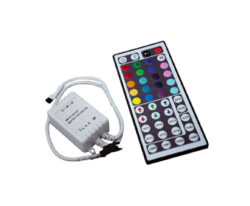RGB ovladač LED s DO 44 tlačítek IR LUX-RGB dálkový  IR ovladač s přijímačem 44 tlačítek