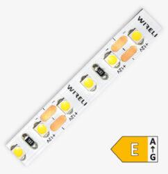 LED pásek 3528  96 WIRELI WC 770lm 7,68W 0,64A (bílá studená)-LED pásek malého výkonu se zvýšenou hustotou LED.