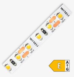 LED pásek 3528  96 WIRELI WW 770lm 7,68W 0,64A (bílá teplá)                     -LED pásek malého výkonu se zvýšenou hustotou LED.