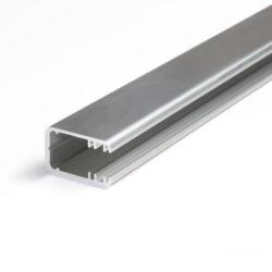 Profil WIRELI10 MIKRO-LINE J/ na sklo 9mm hliník surový 2m (metráž)-Profil pro nasvícení skleněných polic o tloušťce skla 8mm. S profilem je možno vytvořit nasvětlení skleněné police nebo s difuzorem a páskem 120LED/m profil s nepřetržitou linií světla. Čtěte podrobný popis.