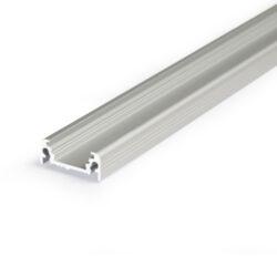 Profil WIRELI11 SURFACE BC/UX hliník anod 4m (metráž                            -Nejprodávanější univerzální přisazený profil s bohatou výbavou doplňků pro montáž a různými druhy difuzorů. Snadná práce a profesionální vzhled.