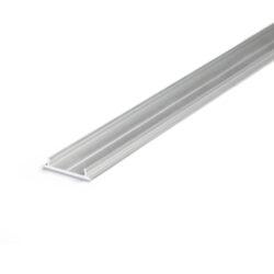 Profil WIRELI13 FIX12 montážní lišta hliník surový 2000mm (metráž)-Jednoduchý technický chladicí a montážní profil.