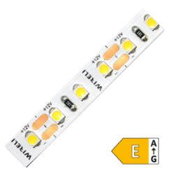 LED pásek 3528 120 WIRELI SW 960lm 9,6W 0,8A CRI>70 (extra studená)-LED pásek středního výkonu s vysokou hustotou LED diod a s netradičním barevným odstínem.