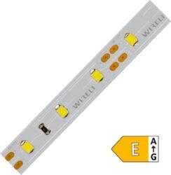 LED pásek 2835  60 WIRELI SW 1560lm 14,4W 1,2A 12V CRI70 (extra studená)-Výkonný LED pásek pro osvětlování s netradičním barevným odstínem.