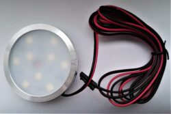 Světlo LED Wireli SLIM RING FROST bílá studená 2W 12V fi 60x7mm (vrut)