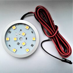 Světlo LED Wireli SLIM RING FROST bílá teplá 2W 12V fi 60x7mm (3M)-Kvalitní LED svítidlo Wireli. Montáž lepením 3M páskou nebo dvěma vruty.