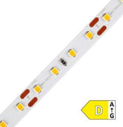 LED pásek 2835  80 WIRELI WW 1550lm 9,6W 0,8A 12V CRI>80 (bílá teplá)-Vylepšený standardní LED pásek s moderními čipy se sníženým výkonem při zachování stejného světelného toku.