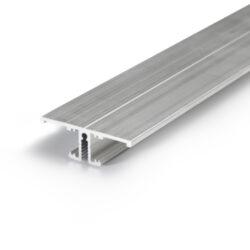 Profil WIRELI20 BACK A/UX hliník surový 2m (metráž)-Profil pro podsvícení obrazů a uměleckých děl