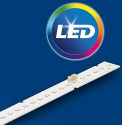 Světelná výzbroj PHILIPS Fortimo Strip 1ft 1100lm 830 1R HV3-LED světelná výzbroj pro profil WIRELI LINEA-20 s proudovým napájením