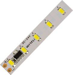 LED pásek hybridní nestmívatelný 5630  70 WN 3150lm 25W 1,05A 24V (bílá neutráln-Nestmívatelný vysocesvítivý napěťově napájený LED pásek s proudovým buzením LED diod a snadným zpracováním.
