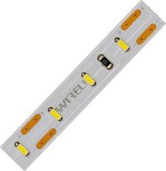 LED pásek 5m 3014  90 WIRELI + 2x kabel WW 990lm 10,8W 0,9A 12V-5 metrový návin LED pásku se 2m černo/červeného kabelu 0,25mm na každém konci.