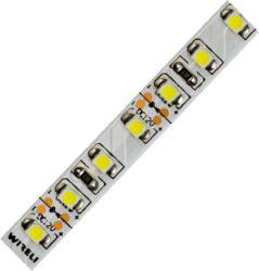 LED pásek 5m 3528 120 WIRELI + 2 x kabel WW 960lm 9,6W 0,8A 12V-5 metrový návin LED pásku se 2m černo/červeného kabelu 0,25mm na každém konci.
