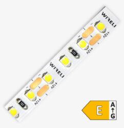 LED pásek 3528  96 WIRELI SW 770lm 7,68W 0,64A (extra studená)                  -LED pásek malého výkonu se zvýšeným počtem LED s extrémně studenou barvou světla.