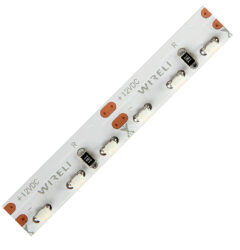 LED pásek 3014 boční 120 WIRELI WN 1200lm 12W 1A 12V CRI>80 (bílá neutrální)-Nový bíle svítící LED pásek s bočním svitem a vysokou hustotou LED.