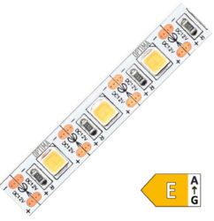 LED pásek 5050 (50m) 60 OPTIMA WW 1200lm 12W 1A 12V (bílá teplá)