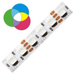 RGB LED pásek 3838  144 WIRELI 10W 0,83A 12V-RGB LED pásek s vysokou hustotou LED.