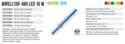 Color LED pásek COF 480 WIRELI 625nm 10W 0,83A 12V (červená)(3202301601)
