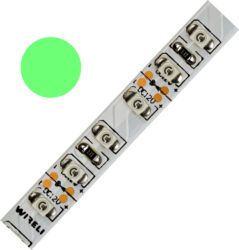 Color LED pásek WIRELI 3528  120 525nm 9,6W 0,8A (zelená)-Barevně svítící LED pásek s vysokou hustotou LED.