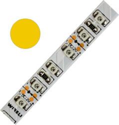 Color LED pásek WIRELI 3528  120 590nm 9,6W 0,8A (žlutá)-Barevně svítící LED pásek s vysokou hustotou LED netradiční barvy.