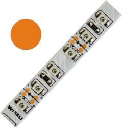Color LED pásek WIRELI 3528  120 604nm 9,6W 0,8A (oranžová)                     -Barevně svítící LED pásek s vysokou hustotou LED netradiční barvy.