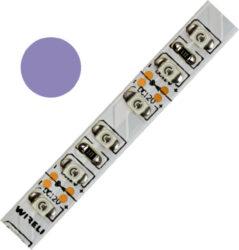 Color LED pásek WIRELI 3528  120 404nm 9,6W 0,8A (purpurová)                    -Barevně svítící LED pásek s vysokou hustotou LED netradiční barvy. Spektrum purpurové barvy je velmi široké - pro specifikaci odstínu před objednáním kontaktujte produktového manažera.