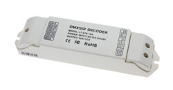 Převodník DNX512/PWM jednokanálový-Umožňuje řízení PWM LED sestav signálem DMX512