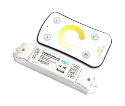 Dotykový dálkový ovladač CCT s přijímačem-Pro řízení CCT LED pásků umožňujících změnu barevné teploty