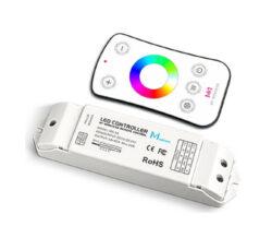 Dotykový dálkový ovladač RGBW s přijímačem                                      -Pro řízení RGBW LED sestav
