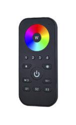 Dotykový čtyřzónový inteligentní dálkový ovladač RGBW                           -Umožňuje nezávisle ovládat až čtyři RGBW LED osvětlovací sestavy - vysílač