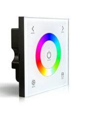 Dotykový ovladač RGB na stěnu-Pro přímé řízení napěťově napájených LED sestav v místnosti